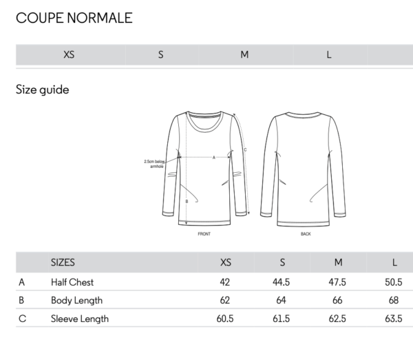 Sizing TShirt ML